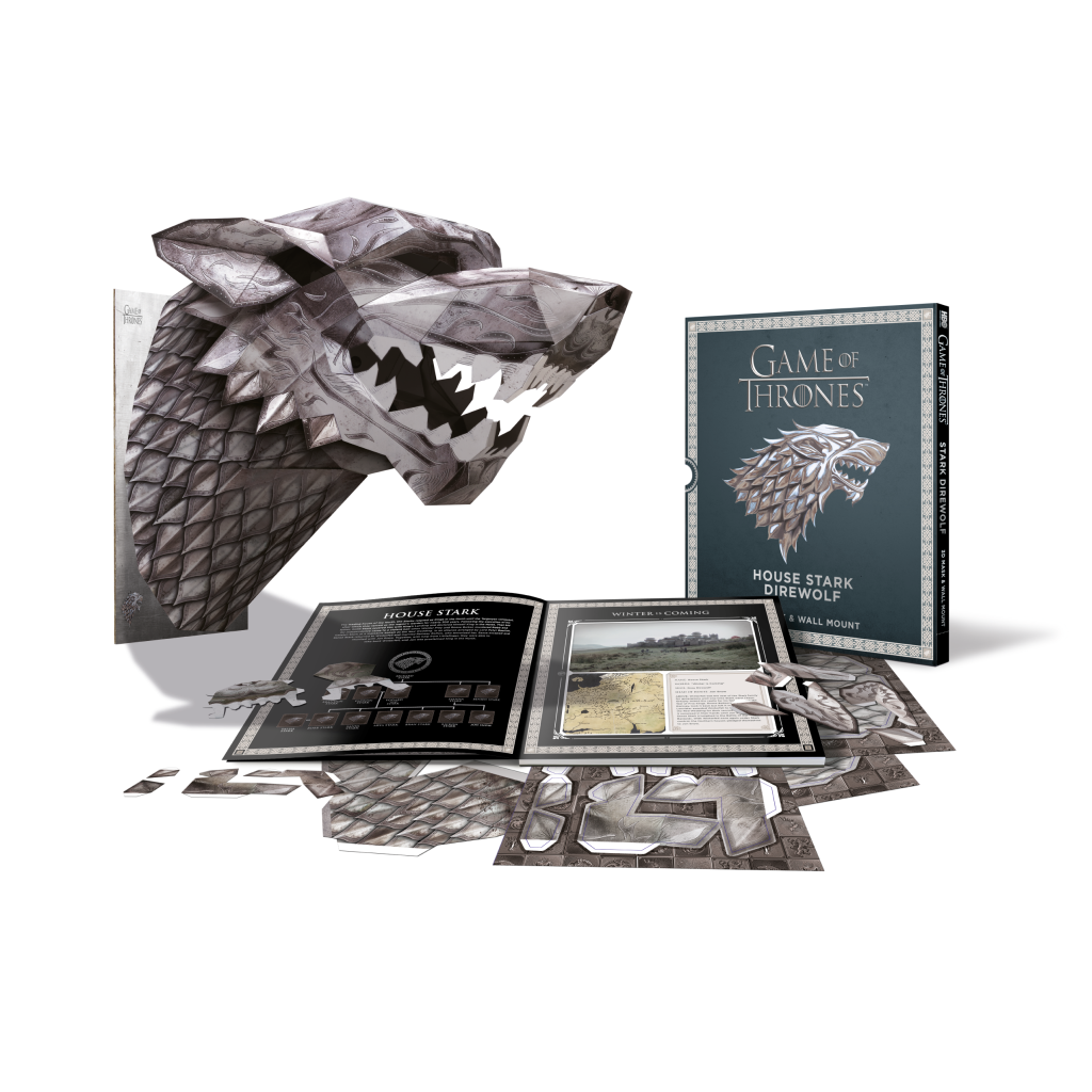 Game of Thrones - Wintercroft - Stark Direwolf - Mask Book