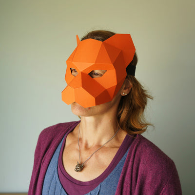 Tiger Half Mask - Wintercroft  - 3