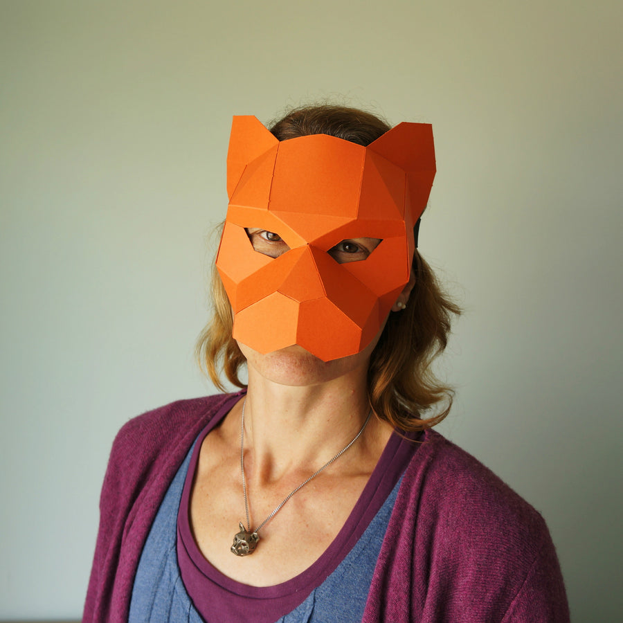 Tiger Half Mask - Wintercroft  - 1