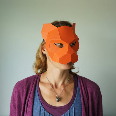 Tiger Half Mask - Wintercroft  - 4