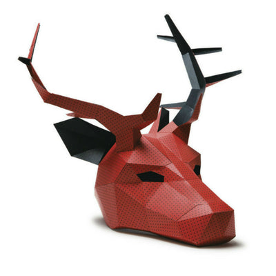 Stag or deer full mask