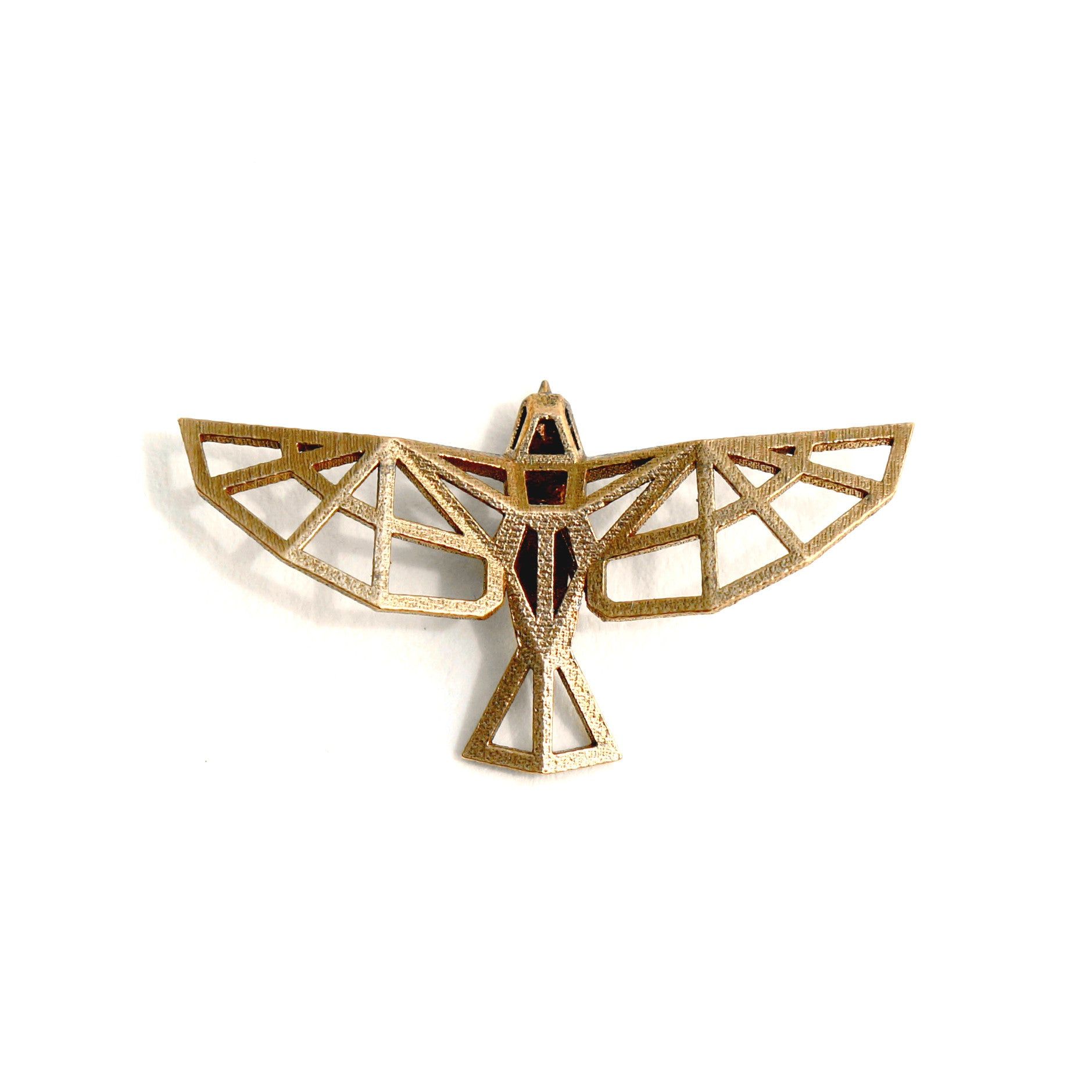 Bird Pendant - Bronze - Wintercroft  - 1