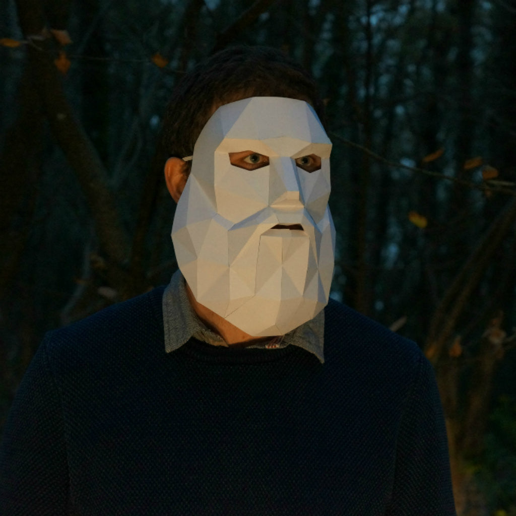 Bearded Man Mask