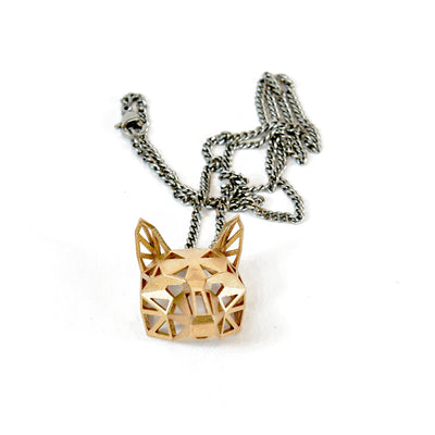 Fox Pendant - Bronze