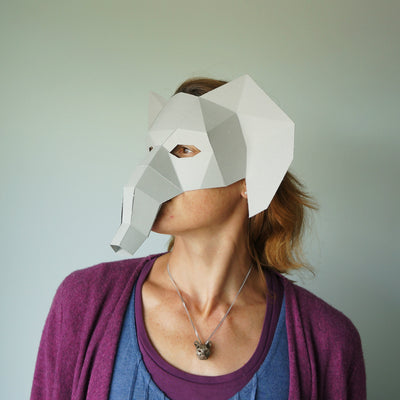 Elephant Half Mask - Wintercroft  - 3