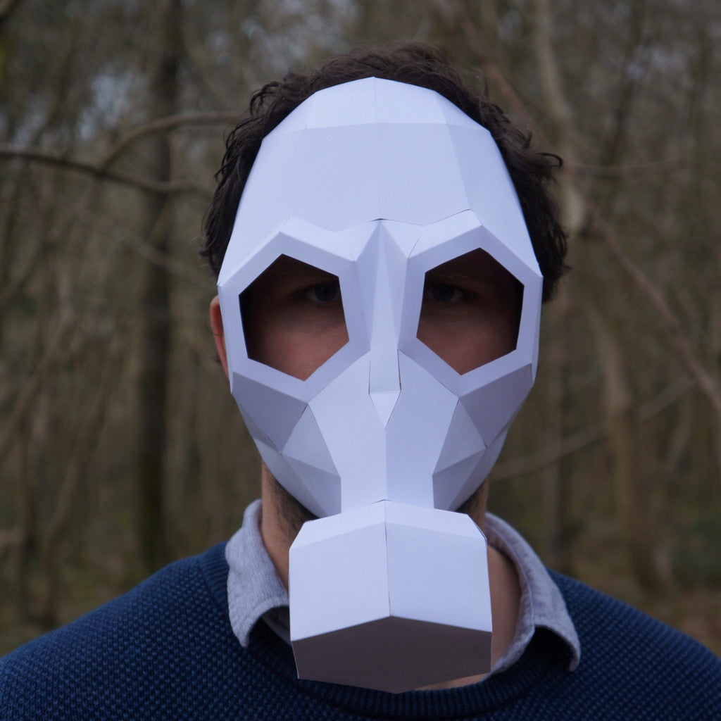 How to make a mask out of paper 94