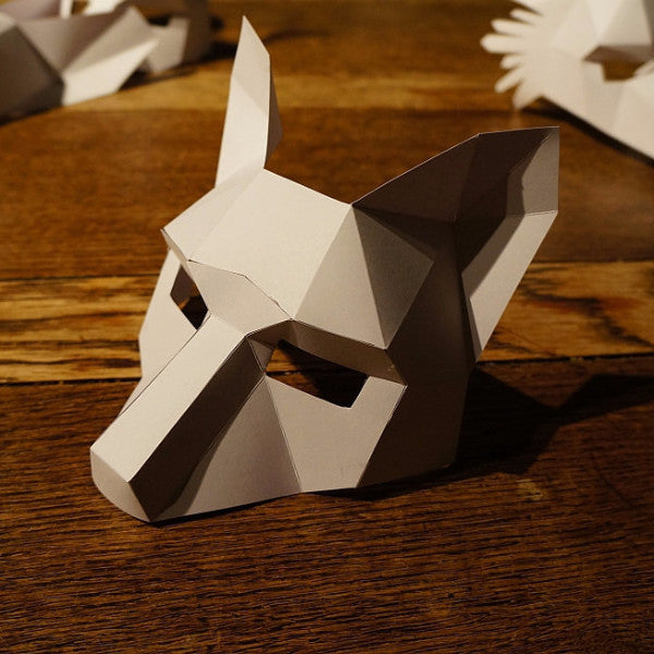 How To Make A Origami Wolf
