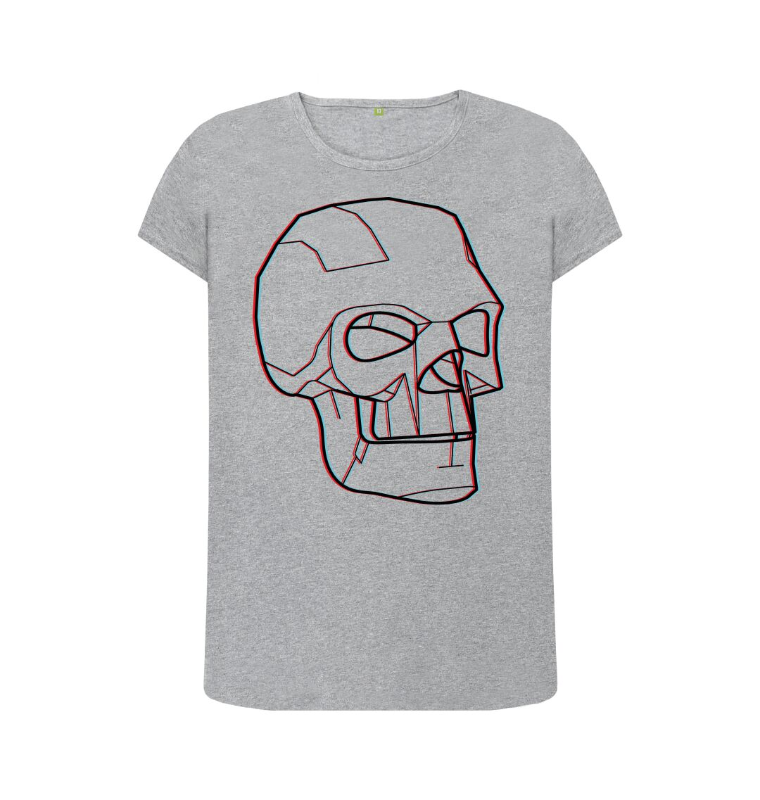 Spirit Skull Glitch T-shirt (female)