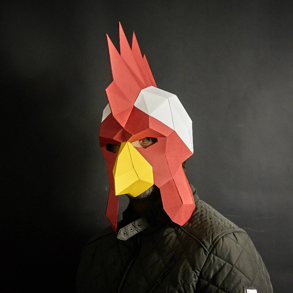 Rooster Mask