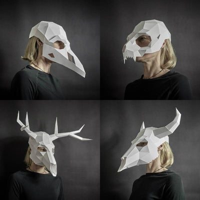 Dead Animal Mask Set