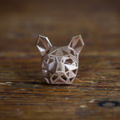 Cat Pendant - Bronze - Wintercroft  - 3