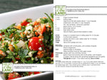 Tabbouleh Salad With Tishbi Olive Oil