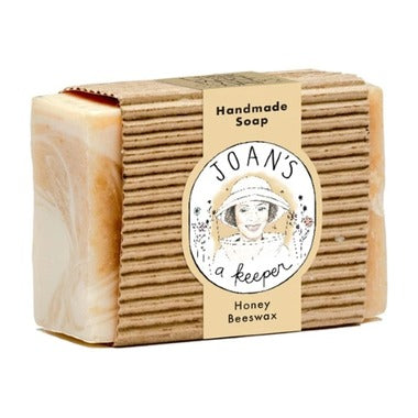 Joan's a Keeper Honey Beeswax Handmade Soap