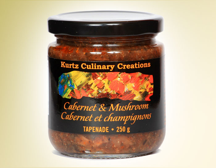 Load image into Gallery viewer, Kurtz Cabernet and Mushroom Tapenade