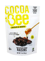 Cocoa Bee Dark Chocolate Covered Raisins