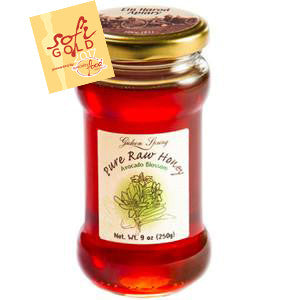 Ein Harod Pure Raw Honey - Avocado Blossom