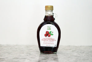 Organic Cranberry Maple Syrup