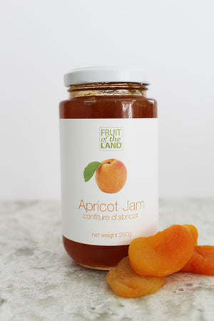 Fruit of the Land Apricot Jam