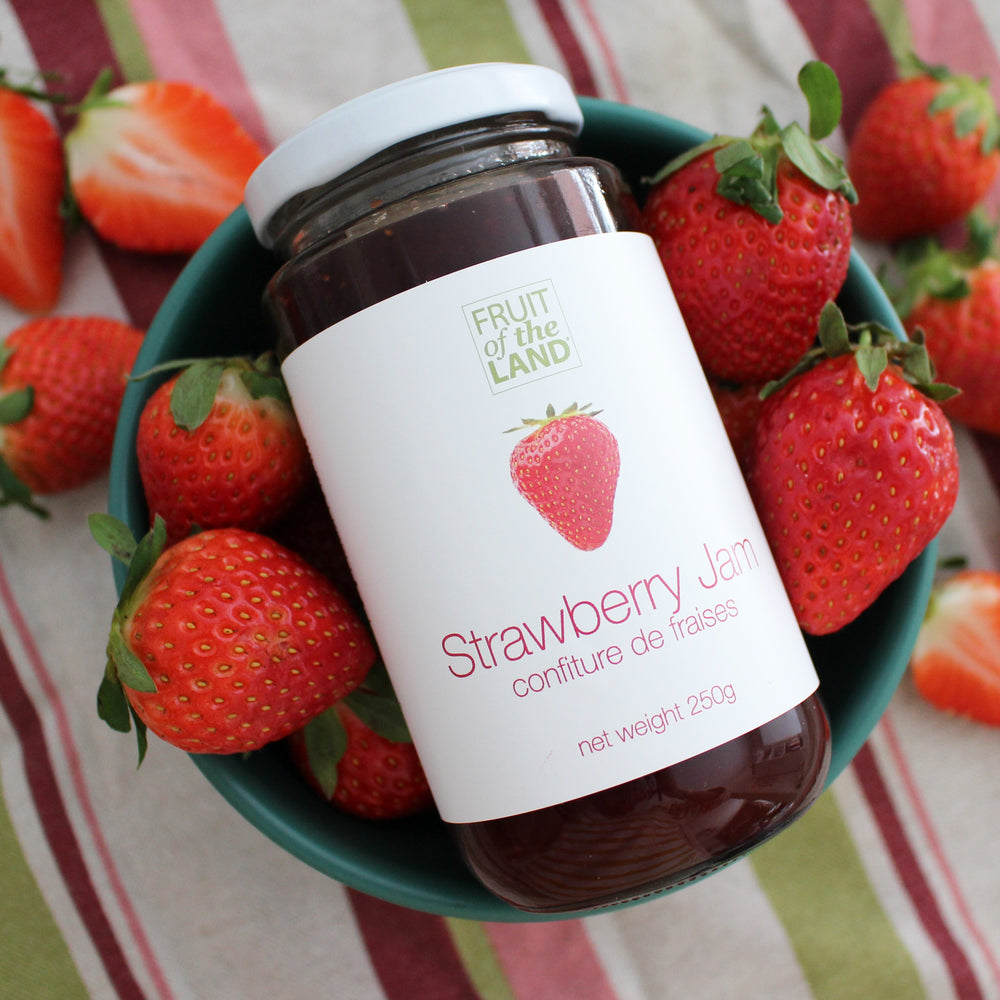 Load image into Gallery viewer, Fruit of the Land Strawberry Jam