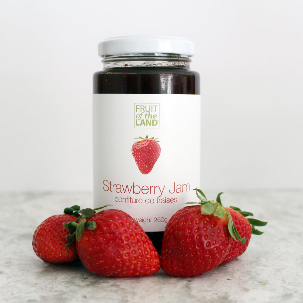 Fruit of the Land Strawberry Jam