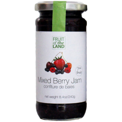 Fruit of the Land - Mixed Berry Jam