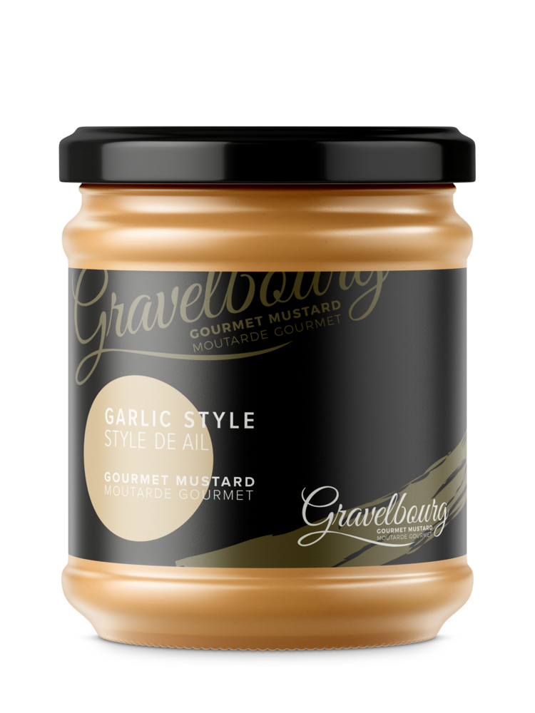Load image into Gallery viewer, Gravelbourg Garlic Style Gourmet Mustard