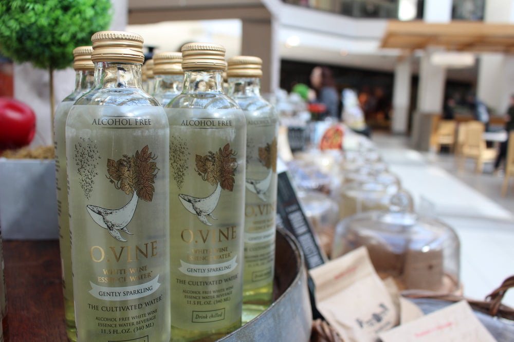 O.Vine alcohol-free wine water