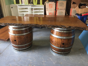 """Farm to TABLE"" Live Edge Wood Tables"