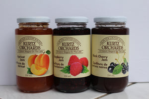 Kurtz Orchards Jam Trio