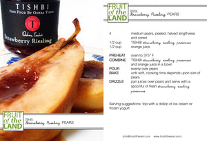 Tishbi Strawberry Riesling Wine & Fruit Preserve - Kosher for Passover