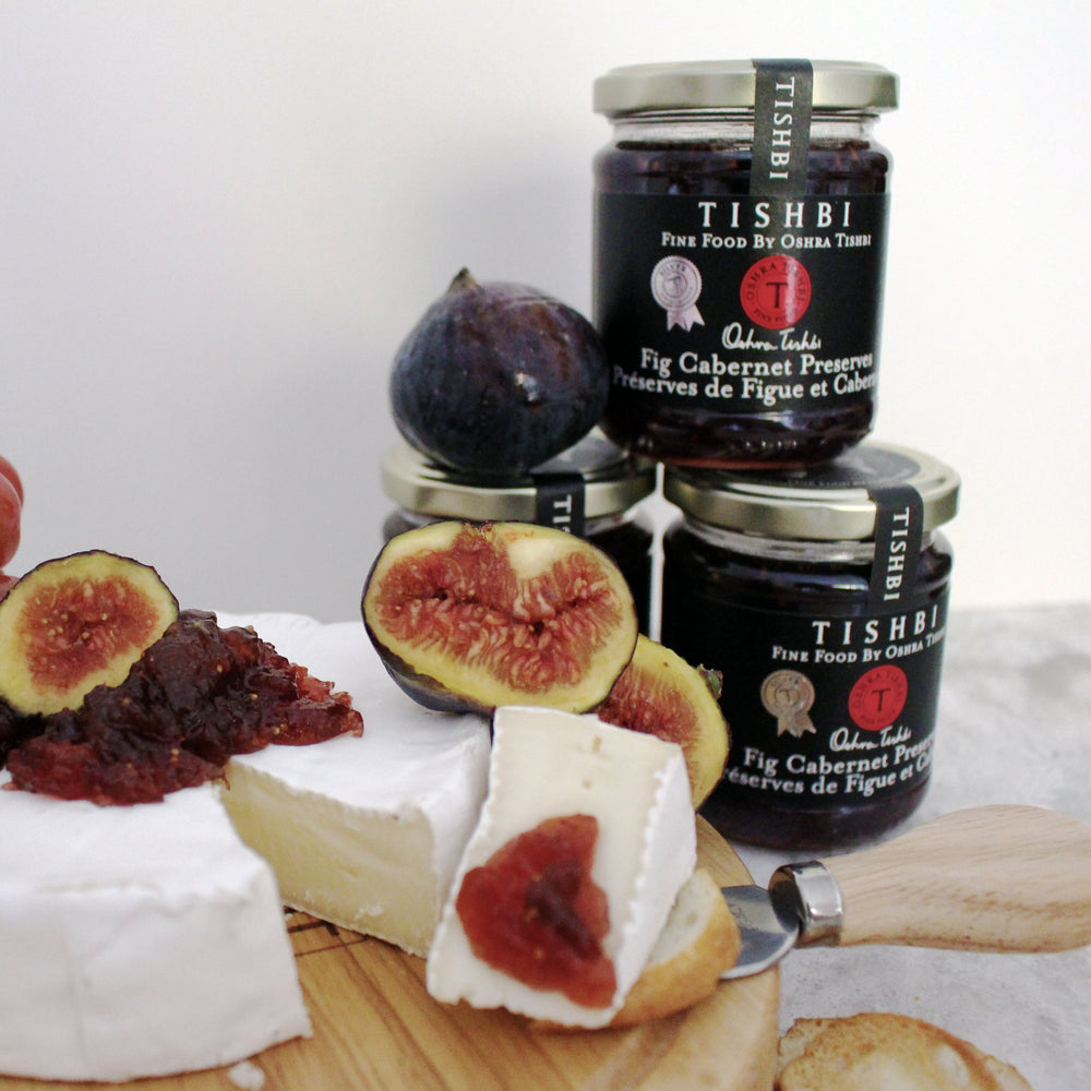 Load image into Gallery viewer, Tishbi Fig Cabernet Wine & Fruit Preserve