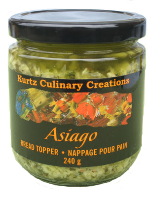 Asiago Bread Topper Tapenade