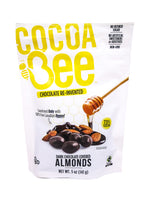 Cocoa Bee Dark Chocolate Covered Almonds