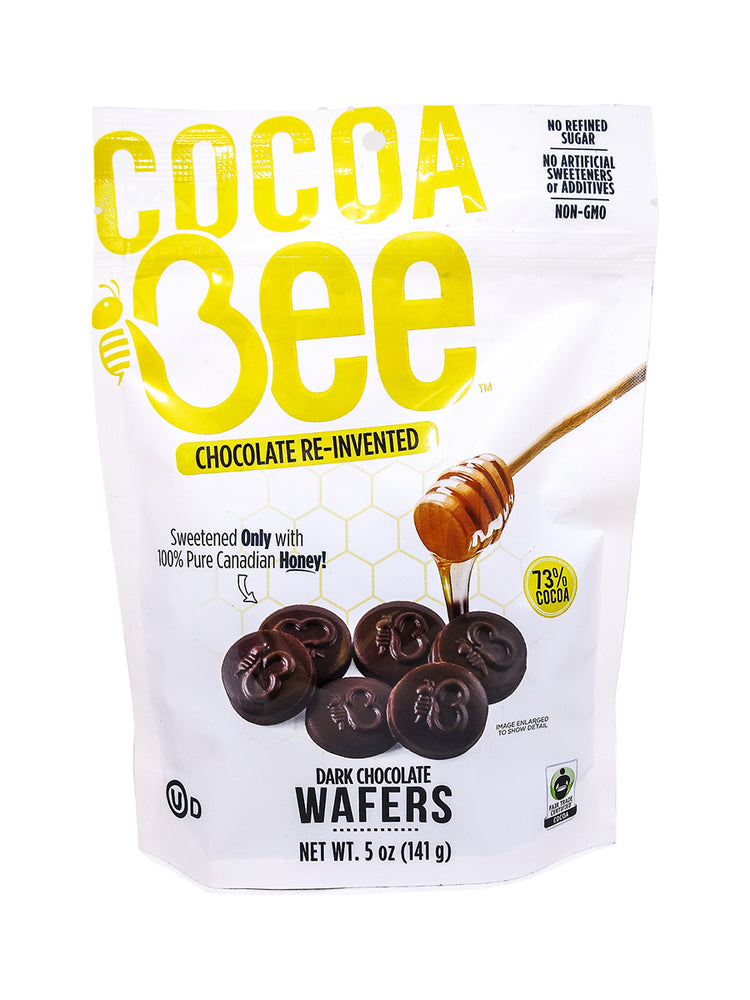 Load image into Gallery viewer, Cocoa Bee Dark Chocolate Wafers