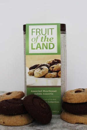 Fruit of the Land x Mary Macleod Shortbread Collection Tin