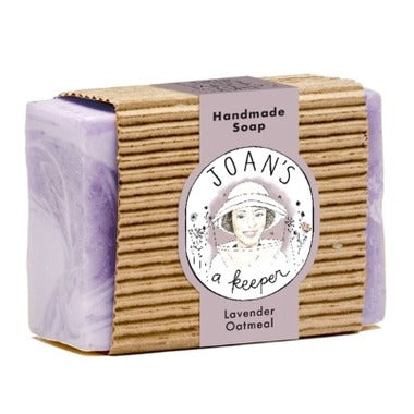 Joan's a Keeper Lavender Oatmeal Soap