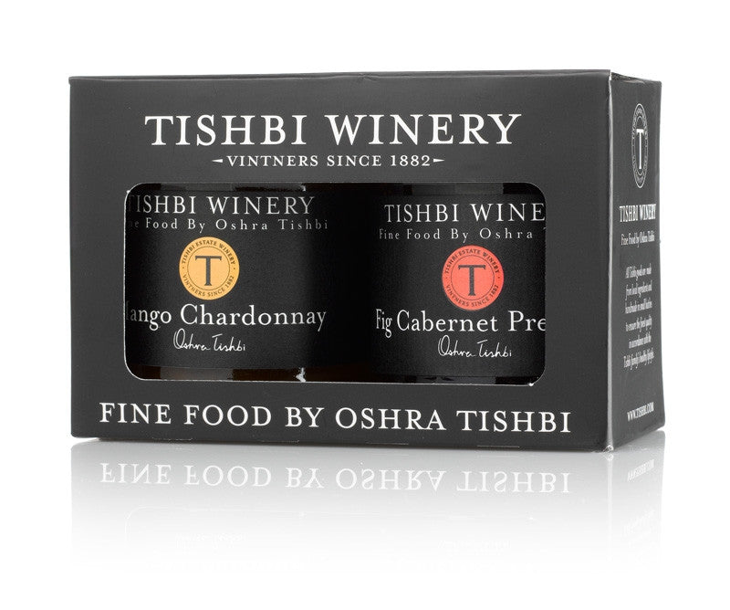 Tishbi Wine & Fruit Preserves Gift Box Set