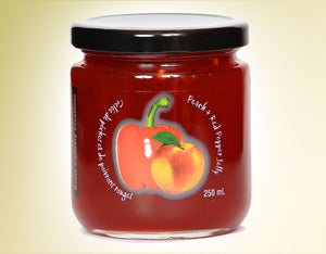 Kurtz Peach and Red Pepper Jelly