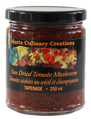 Load image into Gallery viewer, Kurtz Sundried Tomato Mushroom Tapenade