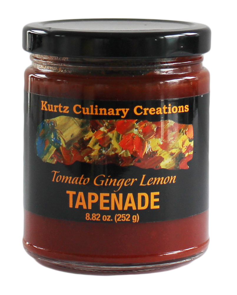 Kurtz Tomato Ginger Lemon Tapenade