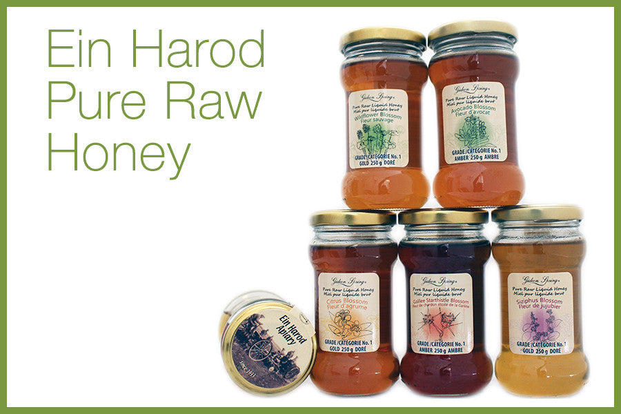 Ein Harod Pure Raw Honey