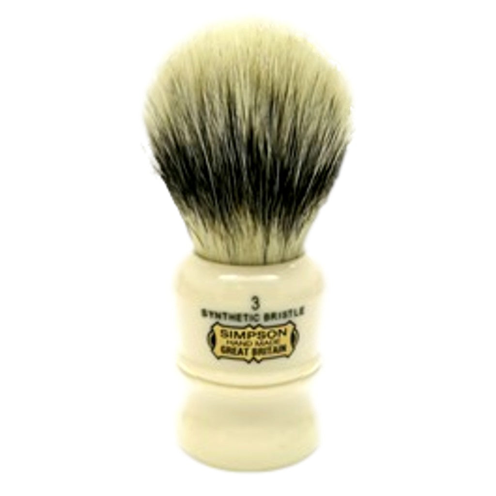 Simpsons 'The Duke 3' Synthetic Shaving Brush - Cyril R. Salter | Trade Suppliers of Luxury Grooming Products