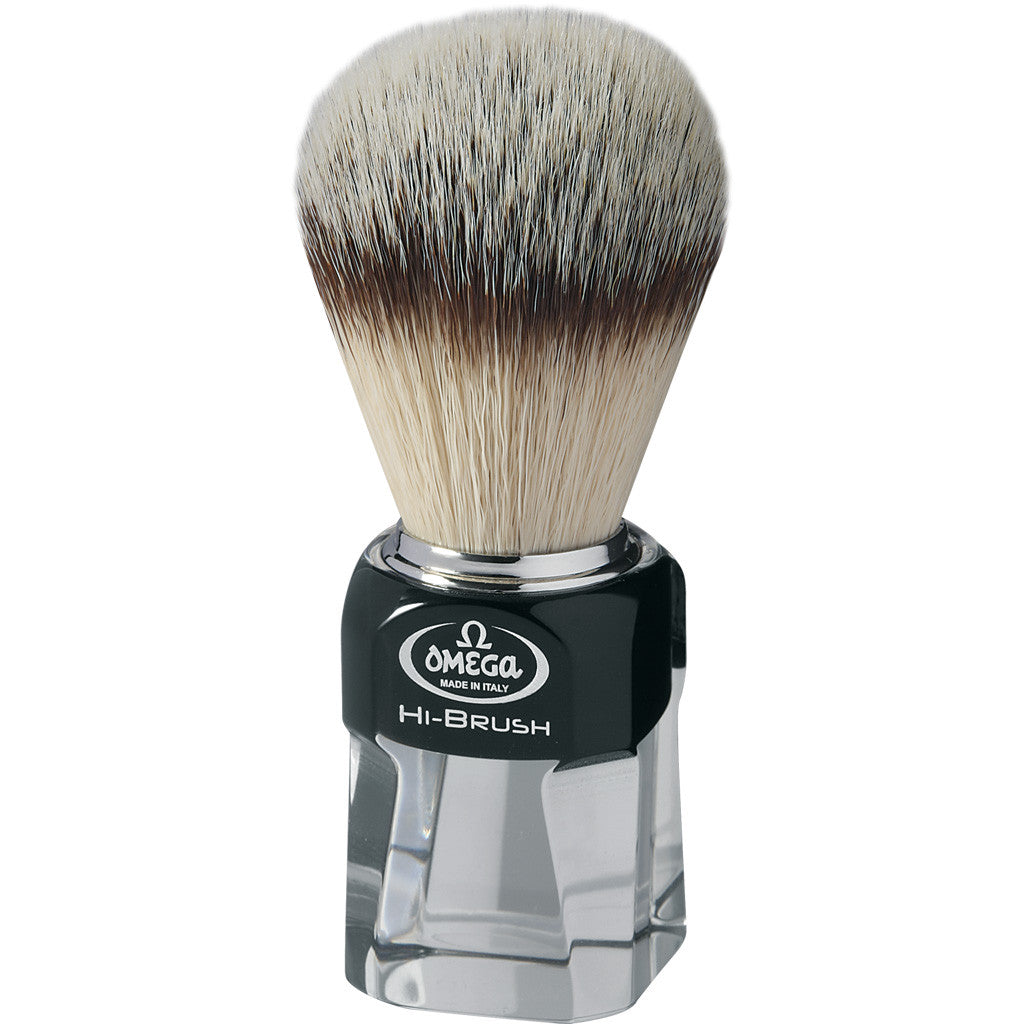Omega 'HI-BRUSH SERIES' Synthetic Shaving Brush 0140634 - Cyril R. Salter