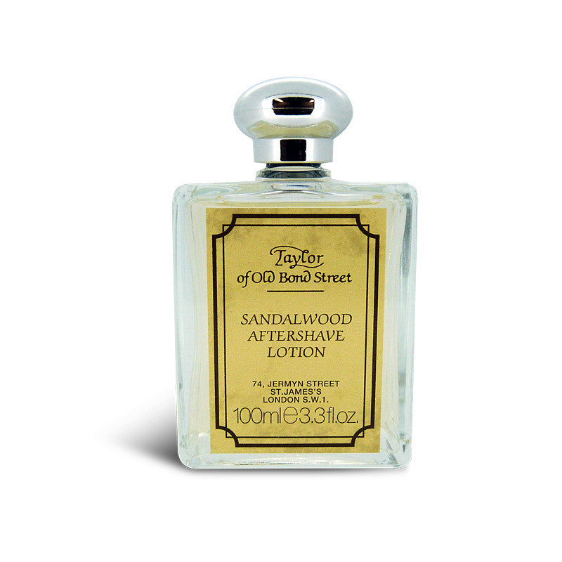 Taylor of Old Bond Street Sandalwood Aftershave Lotion 100ml - Cyril R. Salter