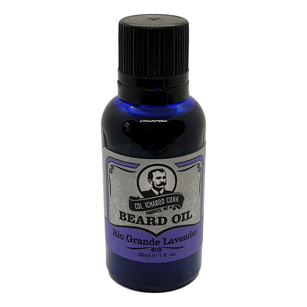Colonel Conk's Natural Beard Oil - Rio Grande Lavender 30ml - Cyril R. Salter | Trade Suppliers of Gentlemen's Grooming Products