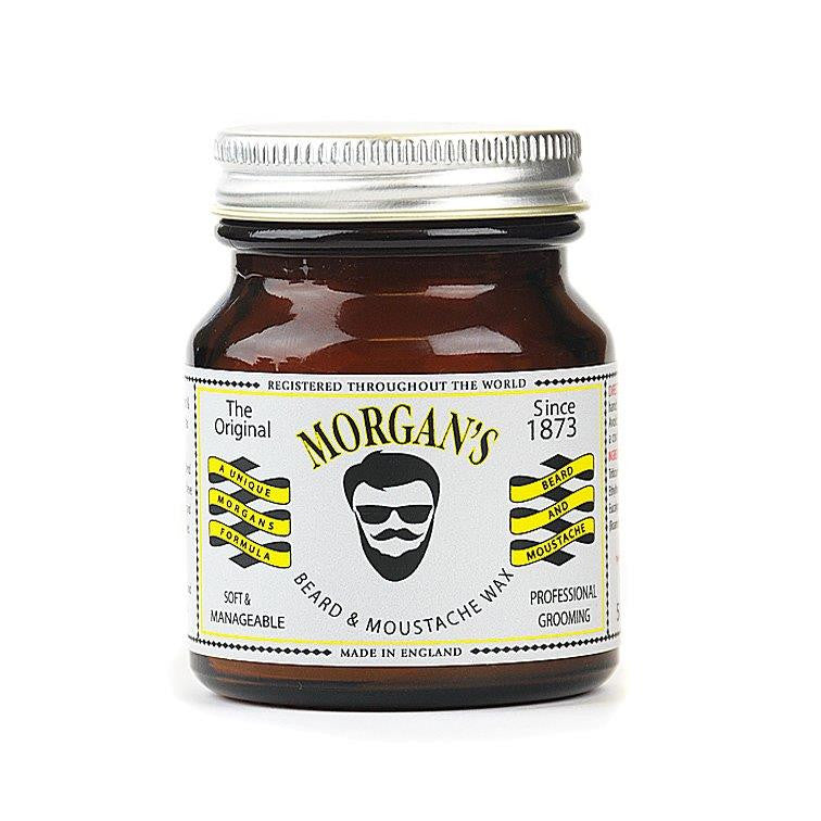 Morgan's Beard and Moustache Styling Wax 50g - Cyril R. Salter