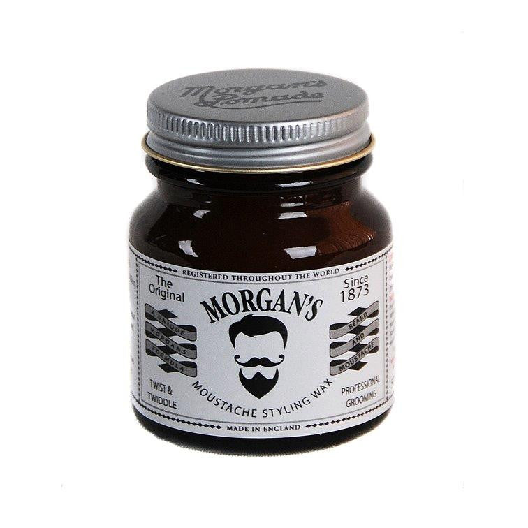 Morgan's Moustache Twist and Twiddle Styling Wax 50g