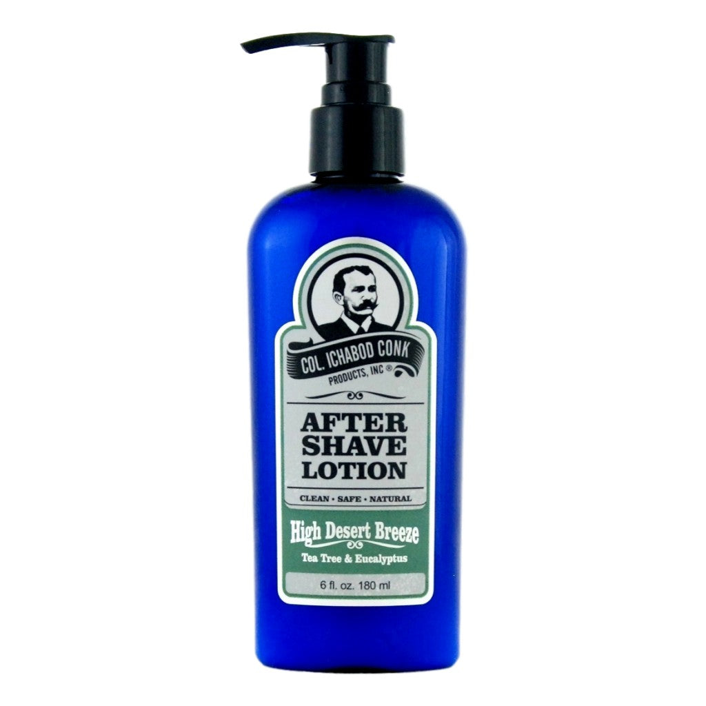 Colonel Conk's Natural After Shave Lotion - High Desert Breeze 180ml - Cyril R. Salter | Trade Suppliers of Gentlemen's Grooming Products