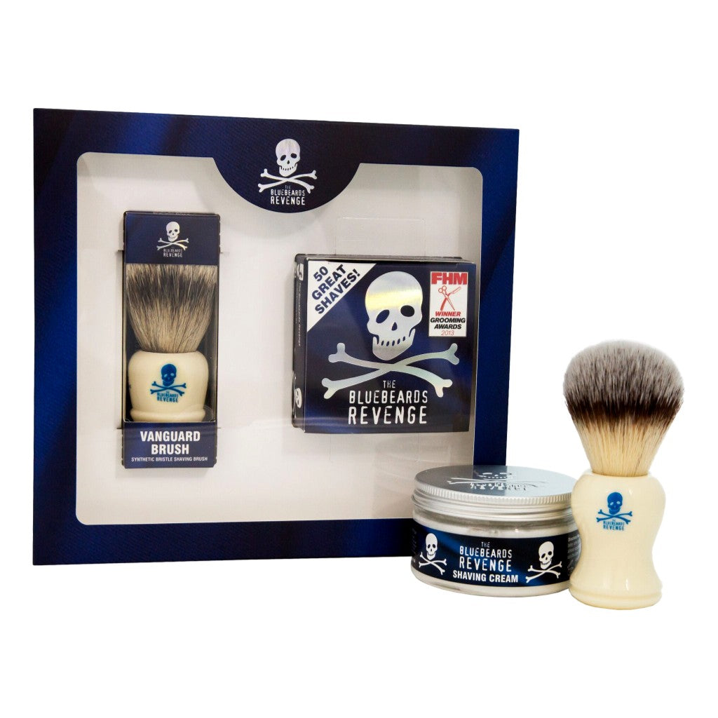 The Bluebeards Revenge Shaving Cream & Vanguard Brush Kit - Cyril R. Salter