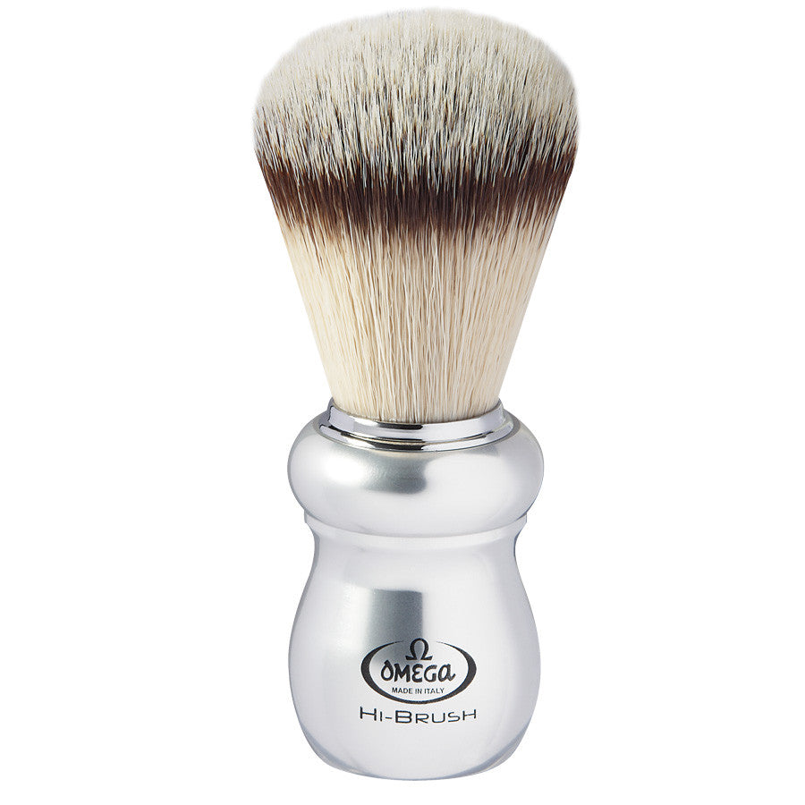 "Omega Hi-BRUSH ""ERGAL"" Fiber Shaving Brush - Cyril R. Salter"